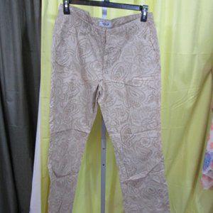 Osh Kosh Dress pants with Paisley Design.